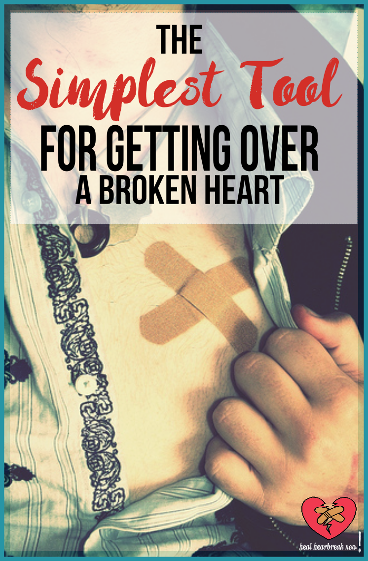 What's One Effective, Yet Simple Tool That Is Vital To Getting Over A Broken Heart? | Find Out More At Heal Heartbreak Now!